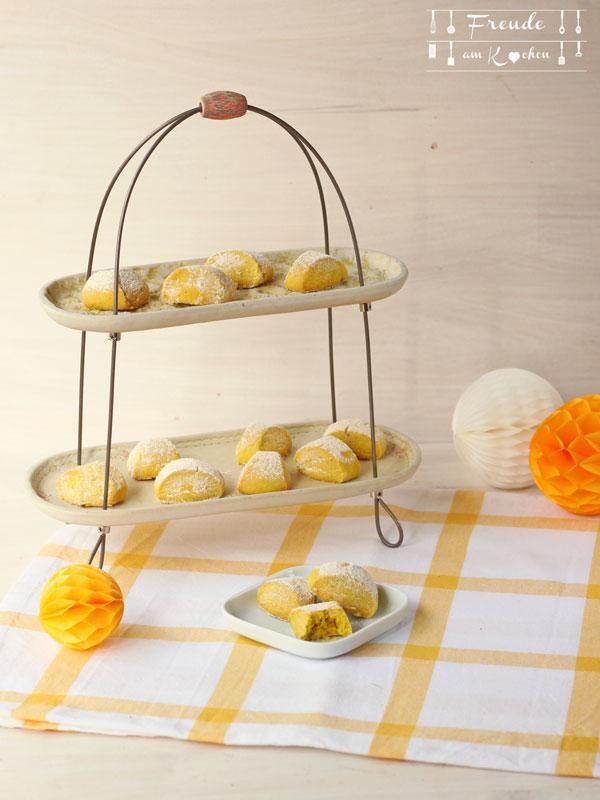 Kurkuma Kekse - Golden Tumeric Cookies - Freude am Kochen