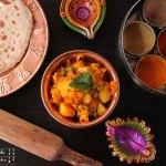 Aloo Gobi – indisches Kartoffel Karfiol (Blumenkohl) Curry