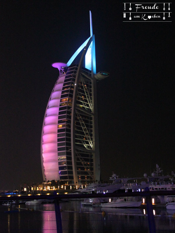 Reisebericht: Dubai - vereinigte arabische Emirate - Freude am Kochen
