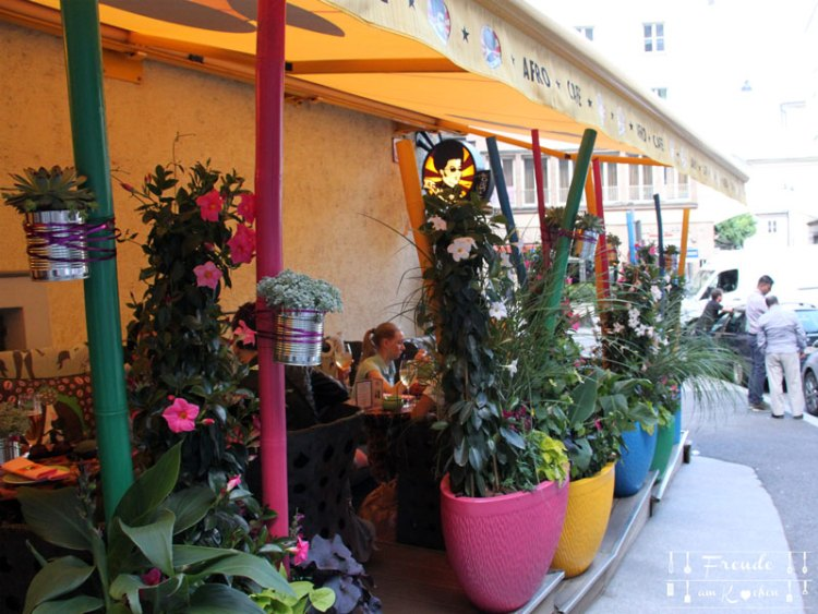 Reisebericht: Salzburg - Freude am Kochen - Afro Café