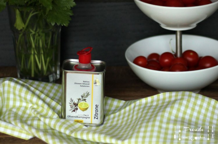 Rezept vegan - Zucchini Hirse Salat mit Zitronen-Olivenöl - Freude am Kochen