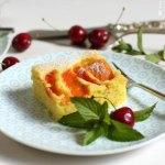 Kirschen Marillen Blechkuchen