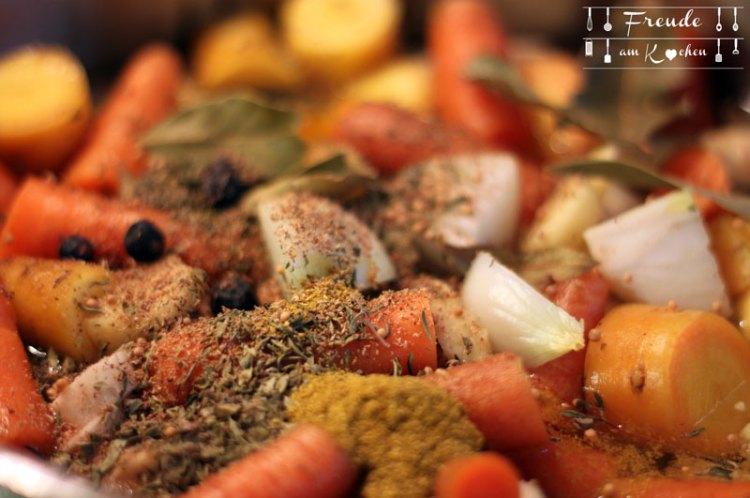 Fastensuppe - Ausgekochte Gemüsebrühe zum Fasten auf Freude am Kochen
