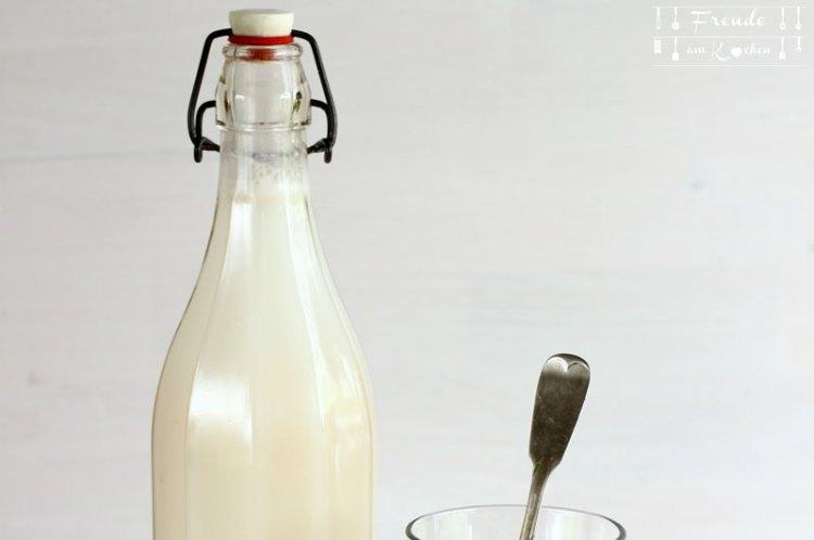 """Veganen Reisdrink selbermachen - """"Reismilch"""" Rezept von Freude am Kochen"""