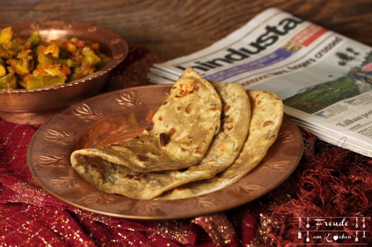 Indisches Chapati Roti vegan - Freude am Kochen