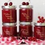 Kirschen Ribisel Marillen Marmelade