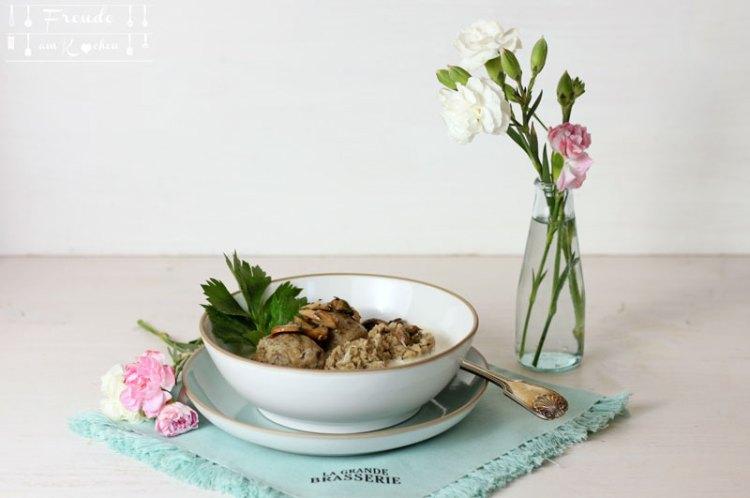 Pilzknöderl aus dem Thermomix - Freude am Kochen vegan