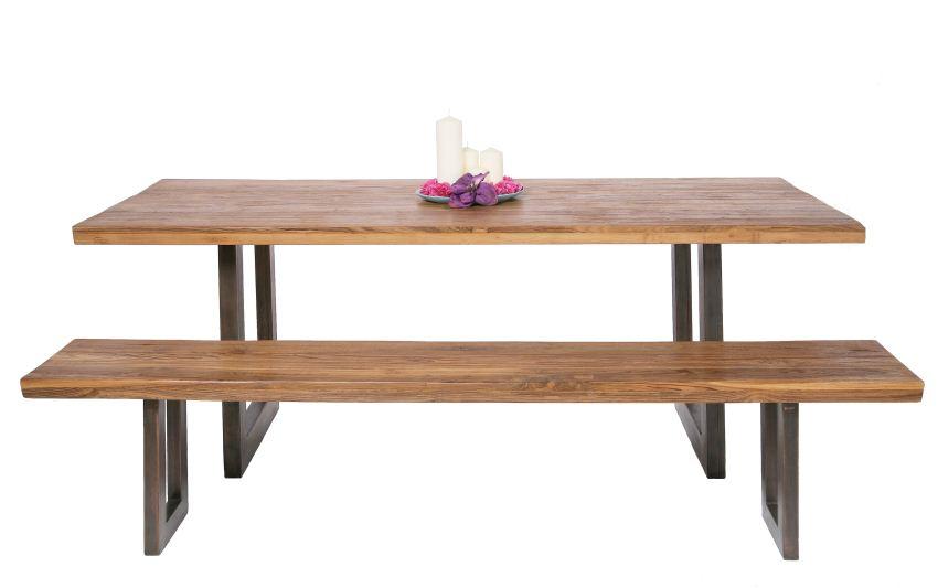 massivholztisch mit bank  Bestseller Shop fr Mbel und Einrichtungen