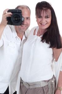 Fotograf Nick und Visagistin Birgit