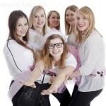 Junggesellenabschieds Feier, Viele Mädels machen Party im Studio