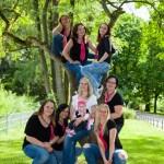 Junggesellenabschieds Feier, Viele Mädels machen Party im Stadtpark Nürnberg