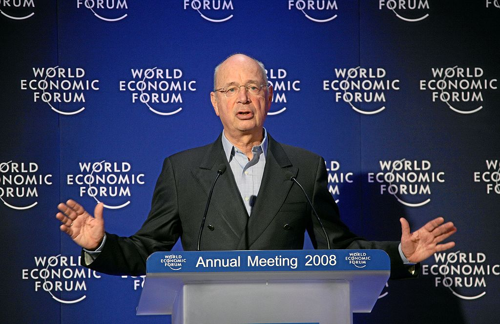 Klaus Schwab, World Economic Forum / Photo by Remy Steinegger