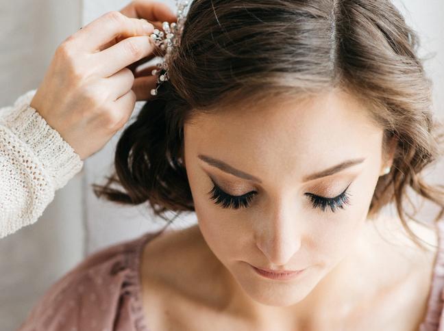 Schne Hochzeitsfrisuren fr kurze Haare  freundinde