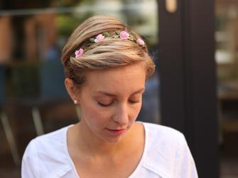 Kurze Haare jeden Tag neu stylen Lisas FrisurenTagebuch