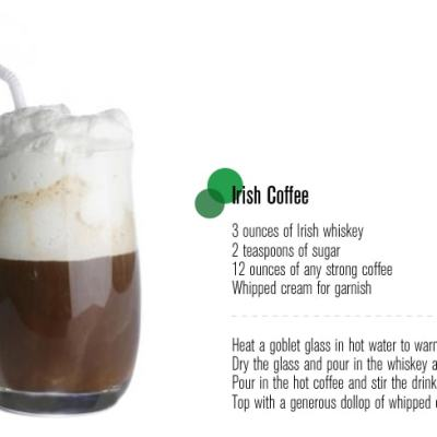 Happy Friday + Irish Coffee