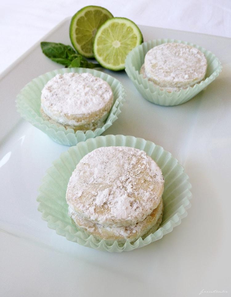 Basil & Lime Meltaways - Freutcake