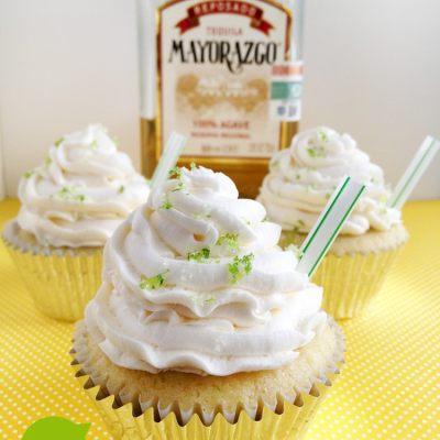 Margarita Cupcakes {Cinco de Mayo}