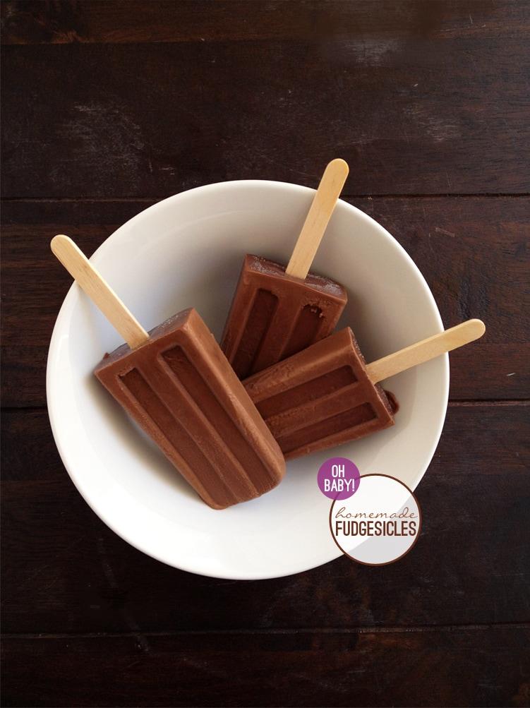 Homemade Fudgesicles Freutcake