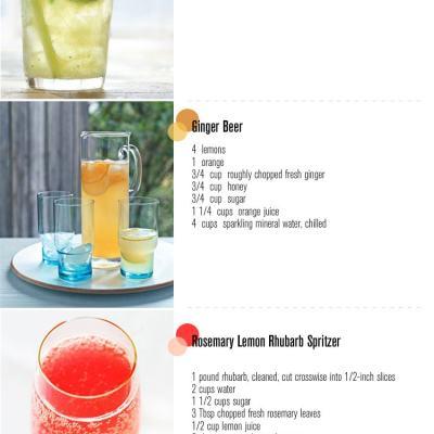 Three Summer Drinks