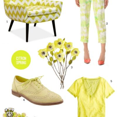 Citron for Spring
