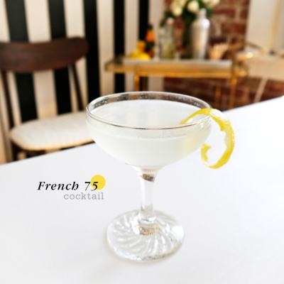 {Cocktail Friday} French 75