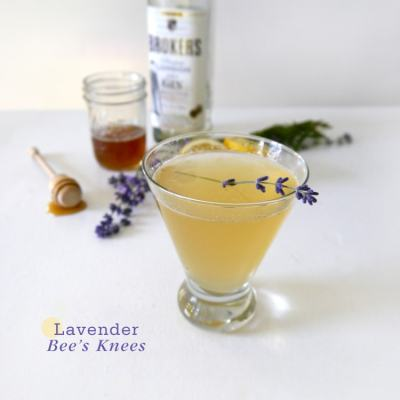 {Cocktail Friday} Lavender Bee's Knees
