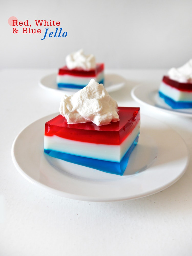 Red-White-&-Blue-Jello