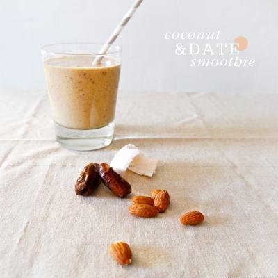 Coconut Date Breakfast Smoothie