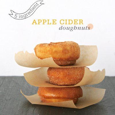 New Contributor + Easy Apple Cider Doughnuts