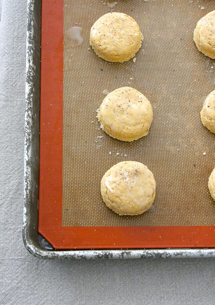 Pumpkin Parmesan Biscuits