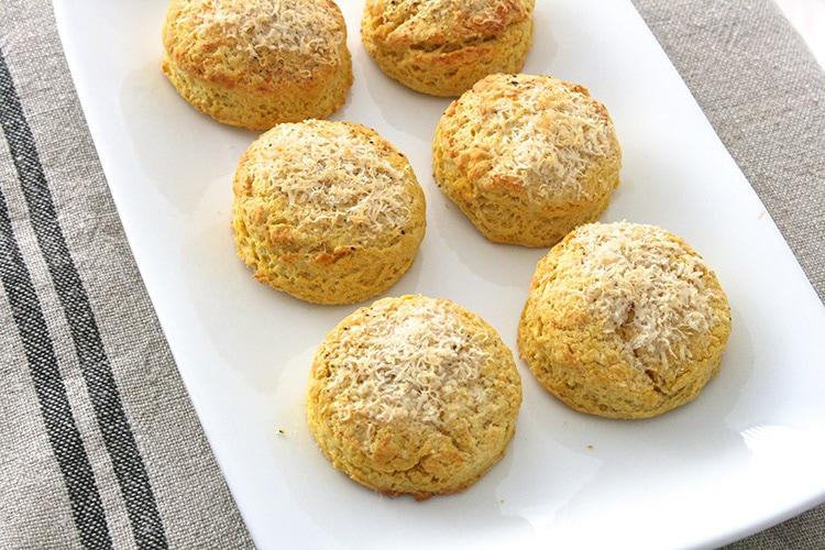 Pumpkin Parmesan Biscuits Recipe