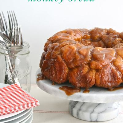 5-Ingredient Sticky Toffee Monkey Bread