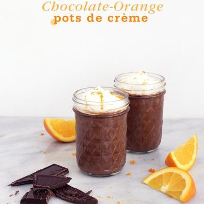 Chocolate-Orange Pots de Crème