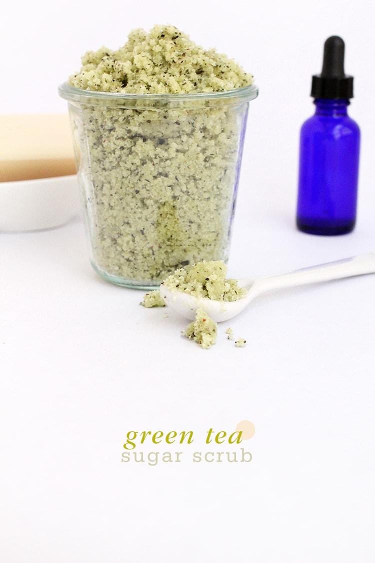 Green Tea Sugar Body Scrub