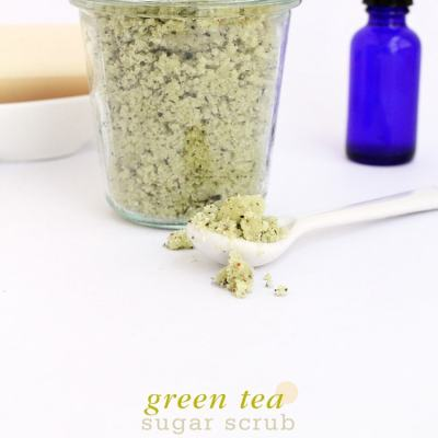 Green Tea Sugar Body Scrub
