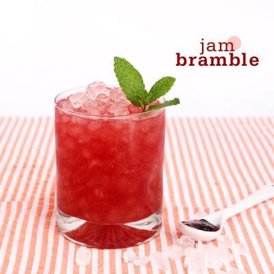 {Cocktail Friday} Jam Bramble