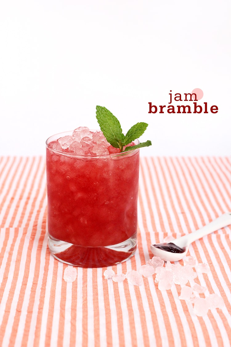 Jam Bramble Cocktail