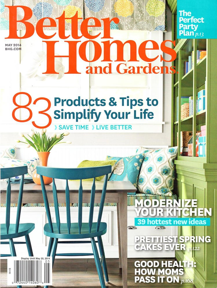 Exceptional Better Homes Cover Freutcake