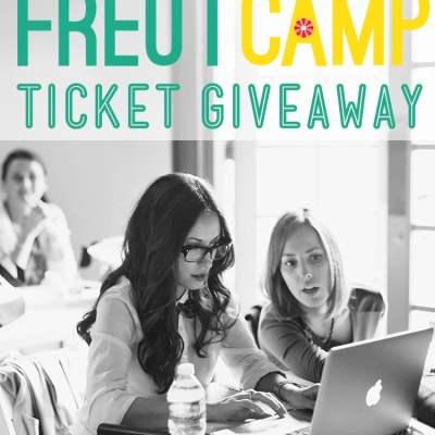 Freutcamp Giveaway