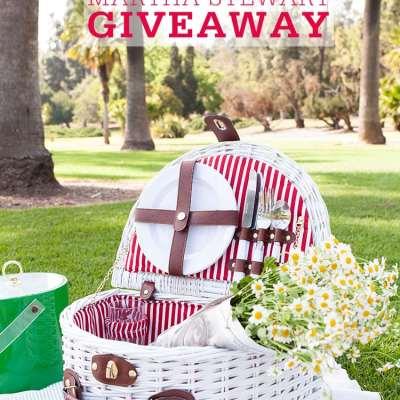 Martha Stewart Picnic Basket Giveaway