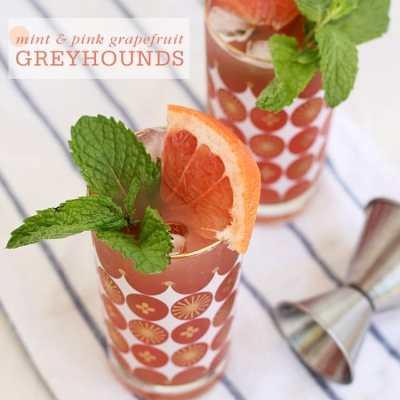 Mint & Pink Grapefruit Greyhounds