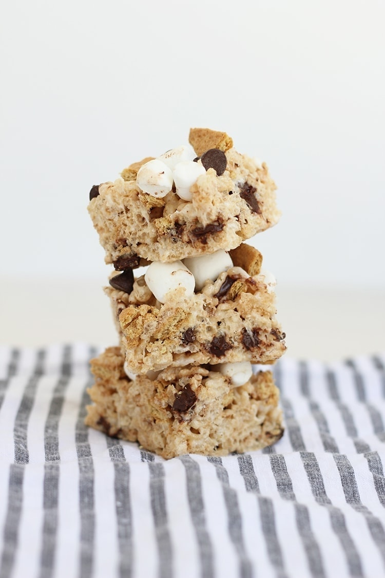 Smores Rice Krispies Treats