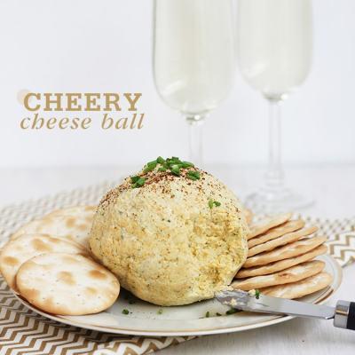 Cheery Cheddar & Garlic Cheese Ball
