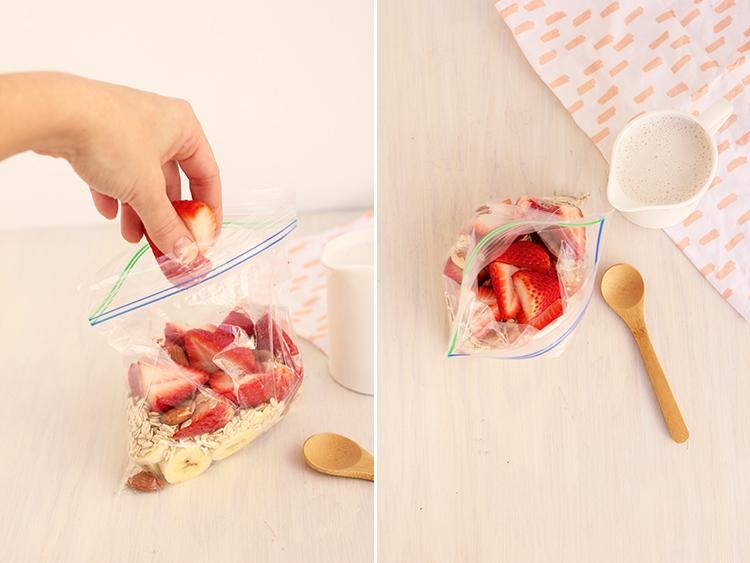 Strawberry-Oatmeal-Smoothie-Prep