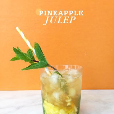 Mint Julep Day + Pineapple Julep Cocktails