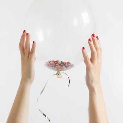 DIY Pom-Pom & Funfetti Balloons