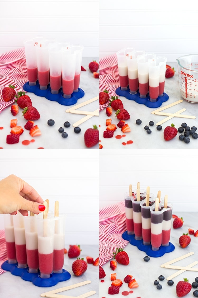 Either way, whichever way you sweeten it, these Firecracker Ice Pops ...