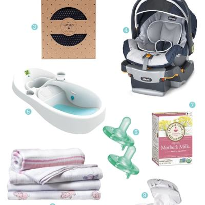 My 0-3 Month Baby Essentials
