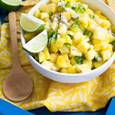 Pineapple Mango Salsa