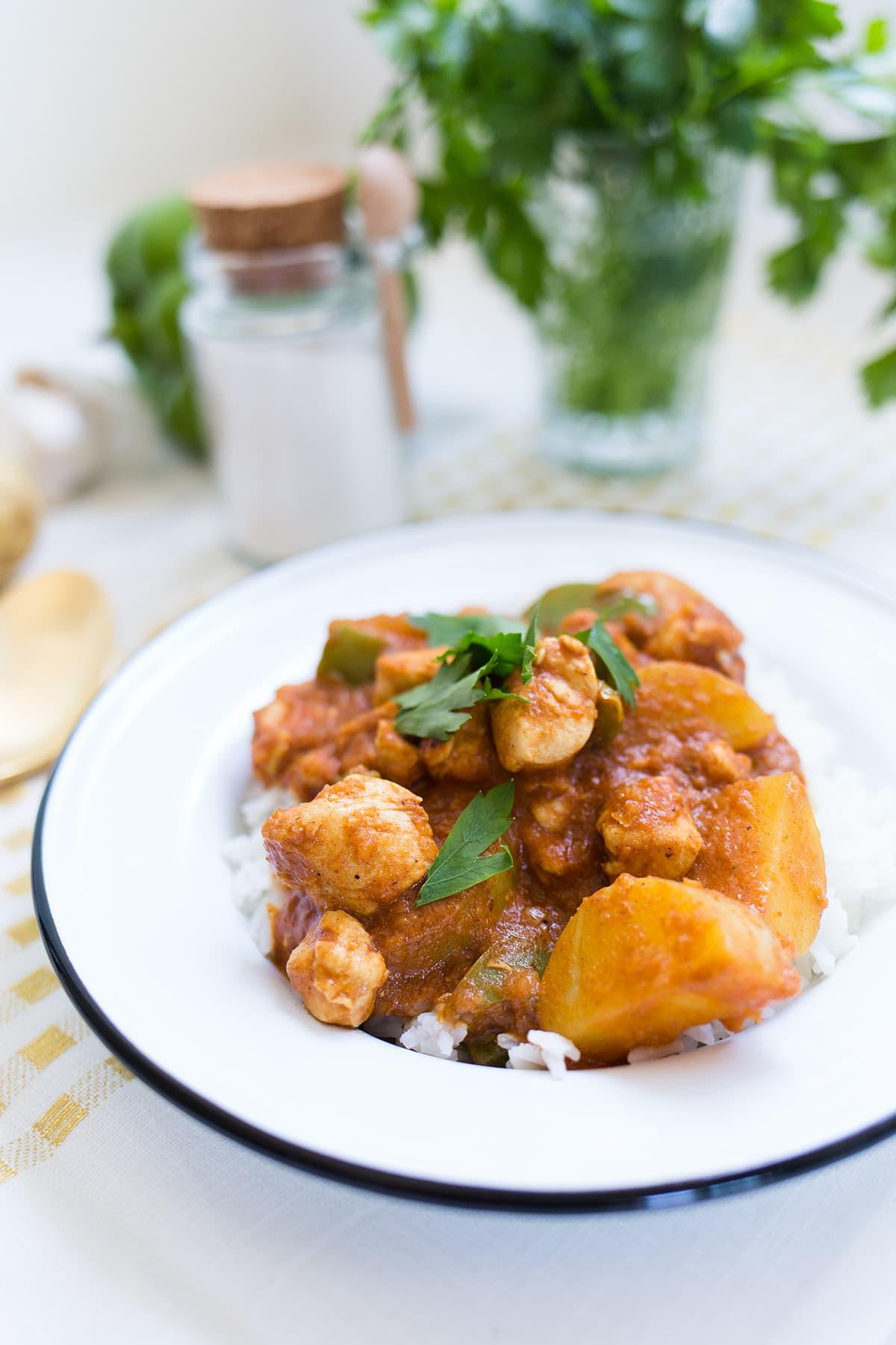 One Pot Chicken Coconut Curry Recipe